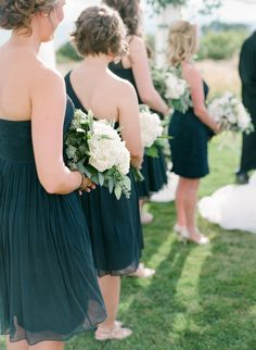 Elegant + Traditional Scottish Wedding in Colorado Navy Blue Bridesmaid Dresses, Bridesmaid Dress Styles, Wedding Dresses, Bridesmaids, Gold Wedding Theme, Dream Wedding, Photography Portfolio, Your Girl, Traditional