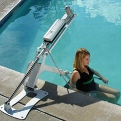 Ranger Pool Lift - easy to operate & low profile