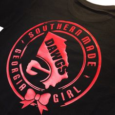 "Georgia! Make some noise :)  :) This ones for you.  The Southern Made Georgia Girl Tee. ""It's a Game Day must"" listing soon on southernmadeshirts.com #inkonashirt #southernmade #georgia #bulldogs #dawgs"