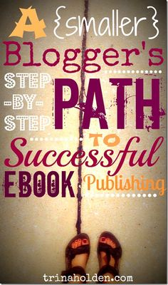 Step-by-Step Path to Successful Ebook Publishing In 2011 I self-published my first ebook, Real {Fast} Food. Despite the small size of my platform at the time I released my book, it was a success and continues Writing A Book, Writing Tips, Writing Resources, Writing Prompts, Print On Demand, Jobs, Blog Love, Self Publishing, Make Money Blogging