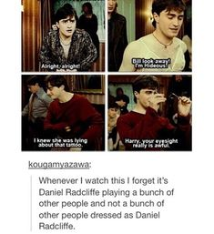 The behind the scenes on this scene was really interesting; how long he studied them was impressive.