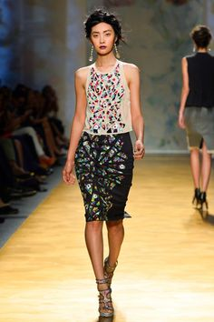 Nicole Miller Spring 2014 Ready-to-Wear Collection