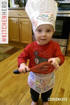 Kari's 2-year-old son: Hero in the Kitchen via @CookSmarts