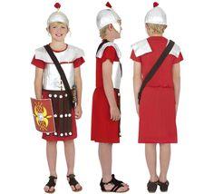Disfraz de Guerrero Romano para niños de 4 a 6 años | Disfrazzes | Tienda de disfraces online