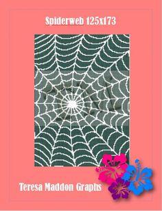 Spiderweb 125x173   Craftsy Plastic Canvas, Beach Mat, Outdoor Blanket, Cross Stitch, Knitting, Crochet, Pattern, Tricot, Breien
