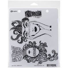 """Ranger Dyan Reaveley's Dylusions Cling Stamp Collections 8.5""""X7""""-Survivor"""