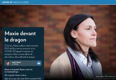 Maxie devant le dragon - La Presse+ Dragon, Musical Theatre