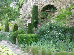 Topiaries/Irises/Evergreen/France
