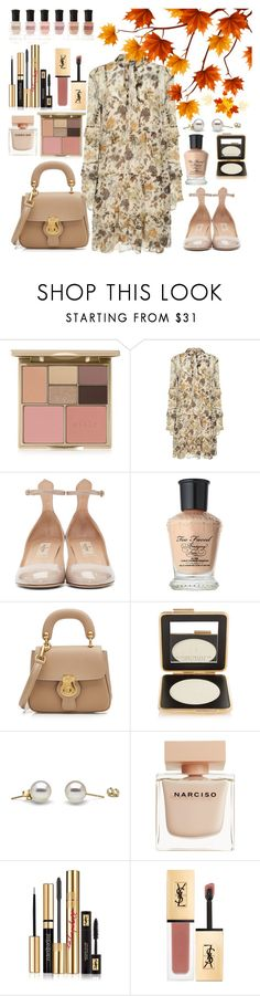 """Autumn 🍂"" by ngkhhuynstyle ❤ liked on Polyvore featuring Stila, Robert Rodriguez, Valentino, Too Faced Cosmetics, Burberry, Estée Lauder, Narciso Rodriguez, Yves Saint Laurent and Deborah Lippmann"