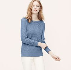 LOFT : 40% off Sweaters and Pants