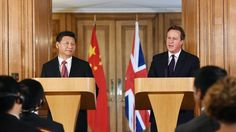 David Cameron defends China business deals - BBC News