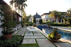 Luxurious outdoor design