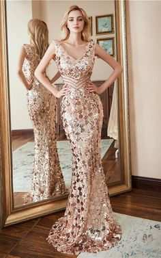 6eaa891582 Bridesy Elegant formal party dress - long prom gown