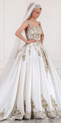 princess ball gown bridal dresses 1