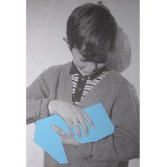 Ruth Van Beek, Light blue silkscreen, 2010, 70 x 100 cm
