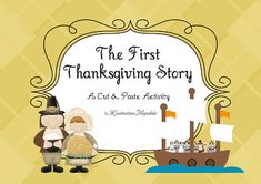 Thanksgiving Day - History and Literacy Worksheets for Pre-K, Kindergarten and First Grade! Free!