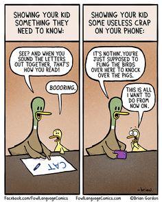 My life at the moment… Useless Crap | Fowl Language Comics