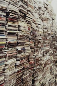 I want to be shrunk and visit all these books.