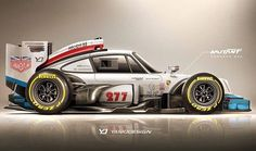 Another awesome design by the Talented @yasiddesign - this guys got talent #porsche by magnuswalker