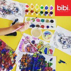 #TipBibi Las clases de arte para pequeños, además de entretenerlos por un buen rato los ayuda a desarrollar sus habilidades motoras, de comunicación y despierta su creatividad.