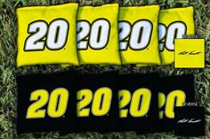 Set of 8 Replacement NASCAR Matt Kenseth #20 Cornhole Bags from TailgateGiant.com