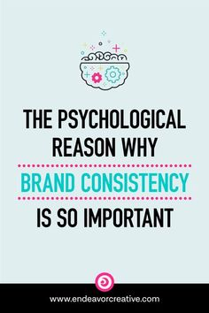 """People are always preaching that when it comes to branding: """"consistency is key!"""" But why? What's the big deal about brand consistency? Well, first and foremost, brand consistency is about trust. In order for people to trust you, they have to feel like they know you. In order for them to feel like they know you, it requires they're aware of, recognize, and remember you. Let's take look at how this all works in the mind of your dream clients. #BrandBravely #Client via @taughnee Branding Your Business, Personal Branding, Business Tips, Online Business, Business Quotes, Content Marketing, Online Marketing, How To Get Clients, Web Design"""