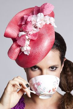 We'll have tea in our fancy hats!