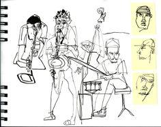 """How was your week with Melanie? - Klass 2 - Melanie Reim - Sketchbook Skool: """"Storytelling"""" October"""