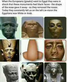 Ancient Egypt was BLACK before the arabs. The real ISRAELITES of the bible were OFTEN mistaken for Egyptians. Josef, Moses and Paul, because they were all black Black History Month, Black History Facts, We Are The World, In This World, Yoruba, Religion, Black Pride, African American History, Ancient History
