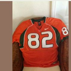 Miami Hurricanes football jersey