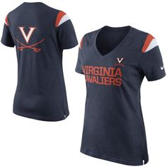 3265065bb College Nike Virginia Cavaliers Women s Fan Top T-Shirt Virginia Basketball