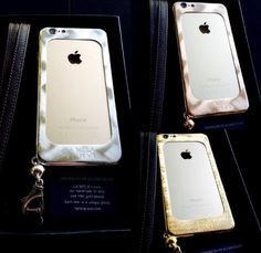 LA MELA LUXURY IPHONE COVER 18 KT GOLD