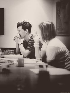 Benedict Cumberbatch - the Thinking Woman's Crumpet.