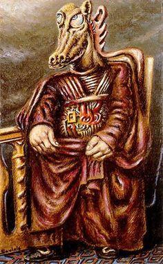 Anthropomorphe: Alberto Savinio: a surrealistic Titian