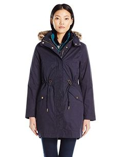 This 3-in-1 jacket is perfect for unpredictable weather. Wear the 100 percent waterproof outer coat on its own when its raining or choose the smart and neat, inner jacket when just a little cover from the cold is required. For days when you need complete protection from the elements, the two can...  More details at https://jackets-lovers.bestselleroutlets.com/ladies-coats-jackets-vests/down-parkas/parkas/product-review-for-joules-womens-wyndfall-3-in-1-waterproof-parka/