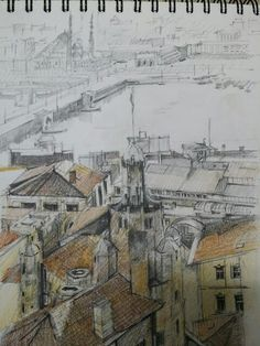#Sketch #drawing #연필드로잉 #건물 #드로잉 #스케치 #풍경 #building #scape  #pencil #그림