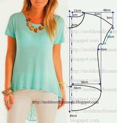 Amazing Sewing Patterns Clone Your Clothes Ideas. Enchanting Sewing Patterns Clone Your Clothes Ideas. Dress Sewing Patterns, Sewing Patterns Free, Free Sewing, Clothing Patterns, Blouse Sewing Pattern, Blouse Pattern Free, Free Pattern, Easy Patterns, Simple Pattern