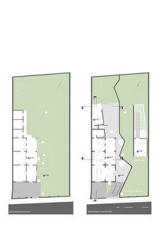 Las Mercedes House-Workshop,Plan