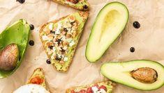 Avocado Toast: 6 Ways – 6 Υγιεινά Σνακ με Αβοκάντο Avocado Egg, Avocado Toast, Zucchini, Eggs, Vegetables, Fruit, Breakfast, Recipes, Food