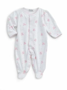 Kissy Kissy Baby Girls Pink Outfit - Infant's Two-Piece Bedtime ...