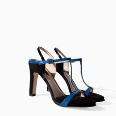 Image 2 of PLATFORM T-BAR SANDAL from Zara