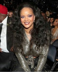 Rihanna at the Grammys.