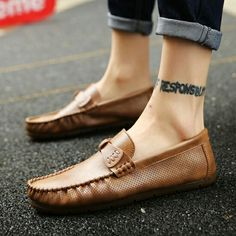 2017 New Arrival High Quality Penny Loafers British Style Men Shoes Luxury Brand Italian Fashion Designer Shoes Men Casual Flats