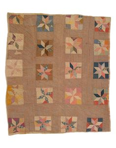 Mosaic Medallion Quilt, 1950-1960
