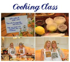 Cooking Class Bridal Shower theme