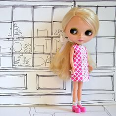 Classic Lilly Style Summer Shift for Blythe