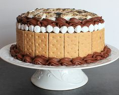 love, laurie: s'mores cake