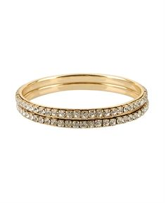 Diamond Bangle Set - StyleSays