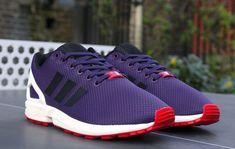 "buy online f333e 3b68f adidas Consortium ZX Flux ""Dark Violet"" Cheap Jordan Shoes, Nike Shoes  Cheap,"