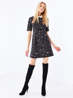 Платье с воротником AFTER HOURS, MOHITO